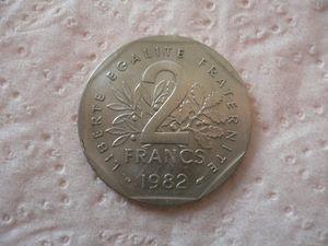 2 francs chambre de commerce 1923 piece bon pour 2 for Chambre de commerce de france bon pour 2 francs