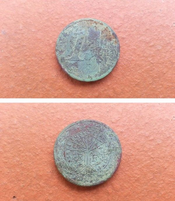 Euros Finlande Pièces De 1 Euro Piece 1 Euro Rare