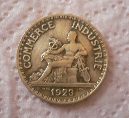 2 francs chambre de commerce 1923 for Chambre de commerce de france bon pour 2 francs